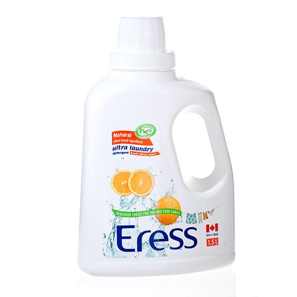 伊瑞丝Eress加拿大进口高效浓缩婴儿洗衣液橙味1.5L