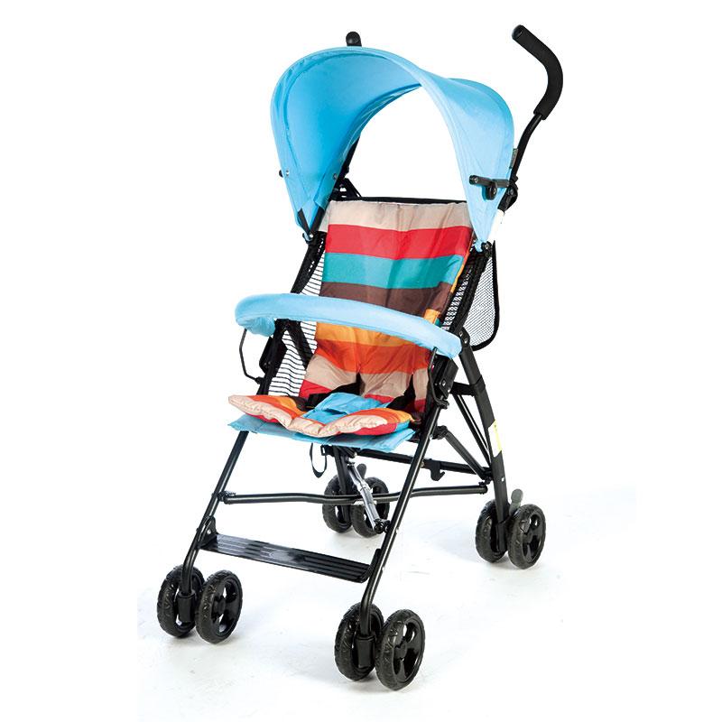 宜柏(Embrace)轻便型儿童推车伞车1025湖蓝色
