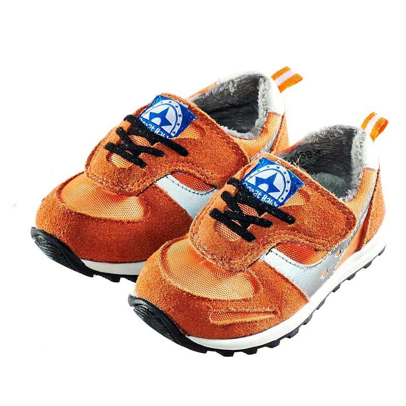 歌瑞贝儿(新)--运动休闲鞋婴儿鞋GB144-025SH橙13.5CM