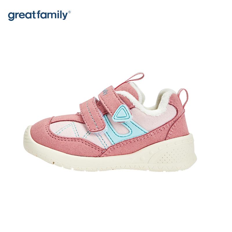 歌瑞家(greatfamily)女婴机能鞋GBS4-033SH粉