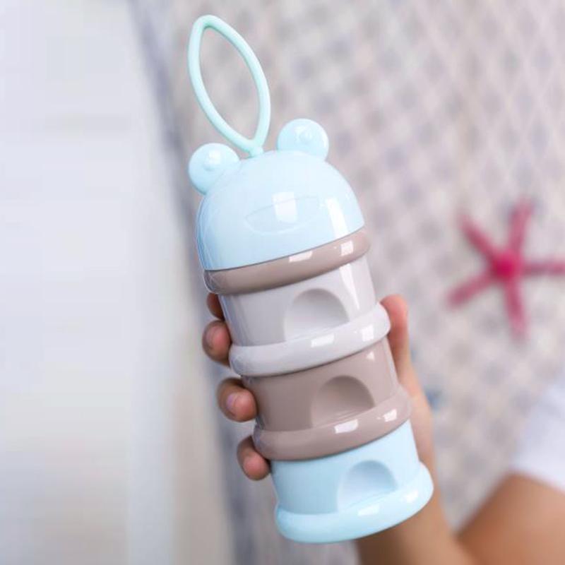 津娃奶粉盒3层