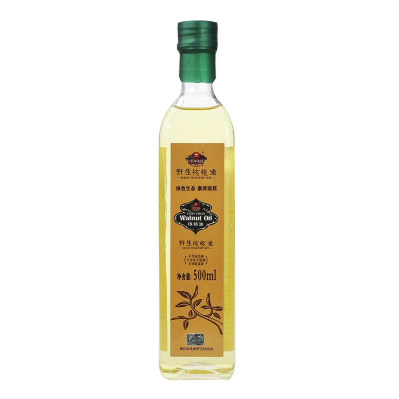 康邦美味核桃油500ml高海拔原生野核桃品质新鲜纯正