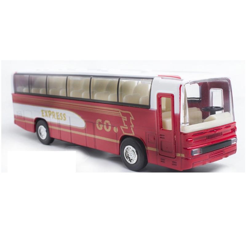 蒂雅多车模 旅游巴士 儿童玩具