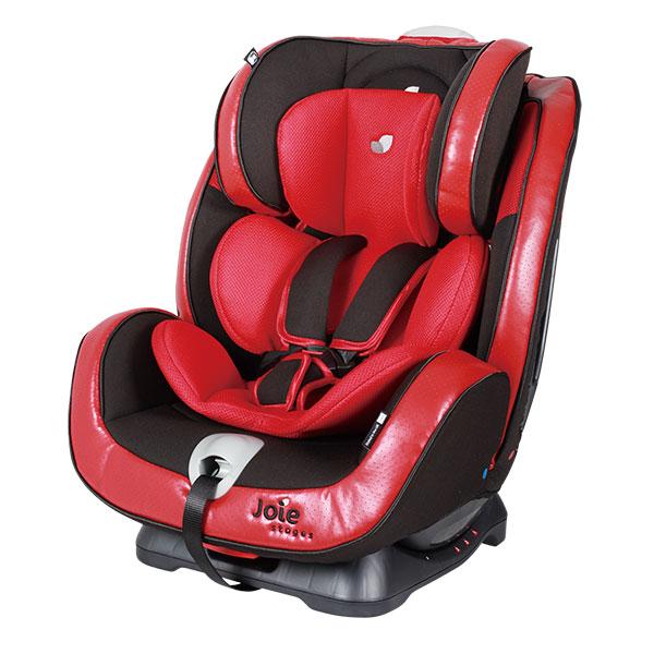 巧儿宜(Joie)适特捷双向儿童安全座椅宝宝座椅尊爵红0至7岁英国品牌侧撞保护