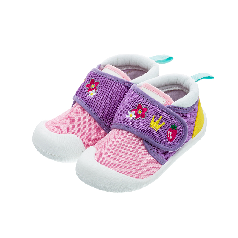 歌瑞家(greatfamily)女婴宝宝运动鞋GBS1-015SH粉13.5CM双