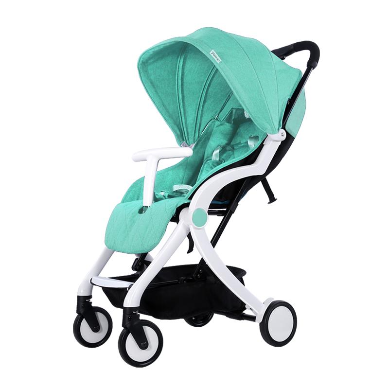 Pouch智能婴儿推车S350-1 薄荷绿