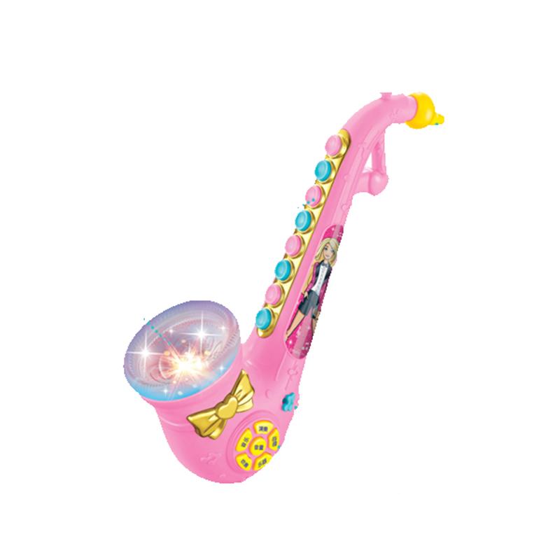 欧锐芭比萨克斯玩具儿童宝宝仿真音乐