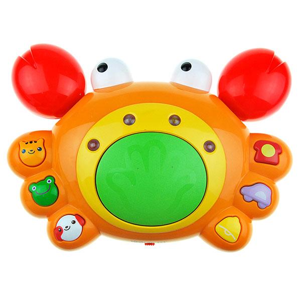 澳贝(Auby)好问爬行小蟹幼儿宝宝早教学爬行玩具