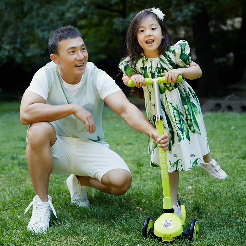 COOGHI酷骑Veli Kids1维乐宝贝滑板车 黄色