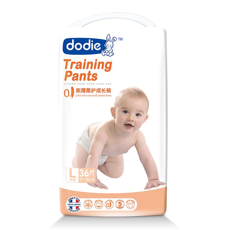 Dodie亲薄柔护成长裤L