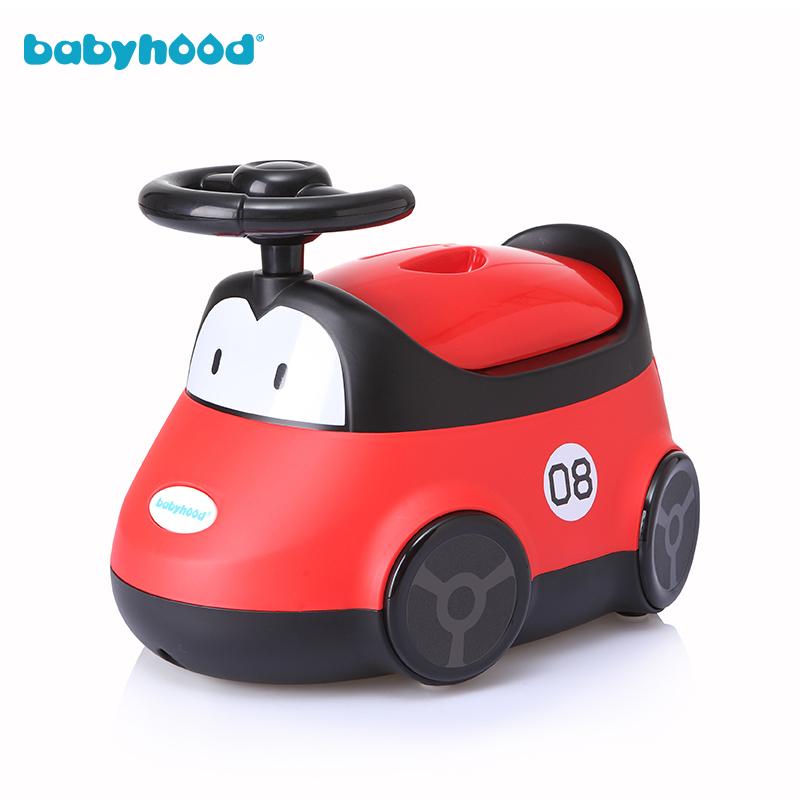 世纪宝贝babyhood 小汽车坐便器 男女宝宝儿童马桶