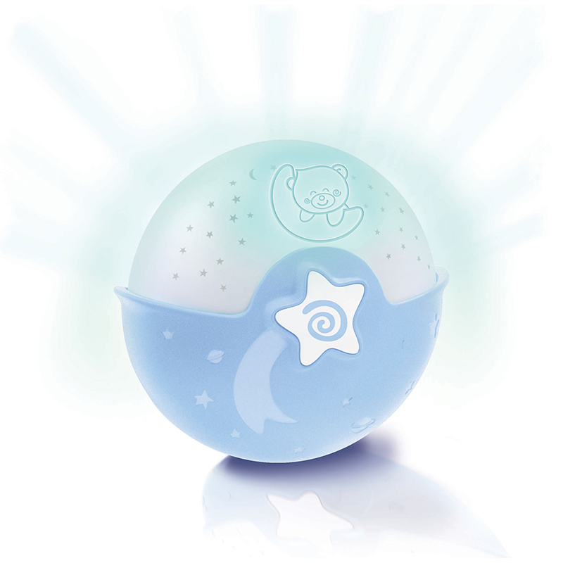 infantino 婴蒂诺安抚星空投影球(蓝)适用于0个月以上 004627