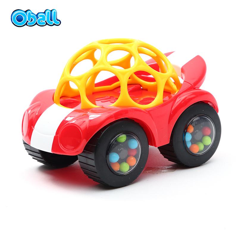 Oball 小汽车-蓝色/红色