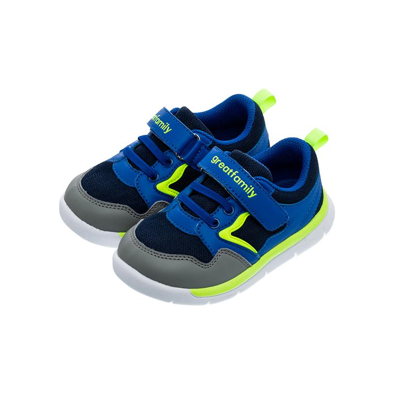 歌瑞家(greatfamily)男婴运动鞋GBS1-037SH蓝14CM双
