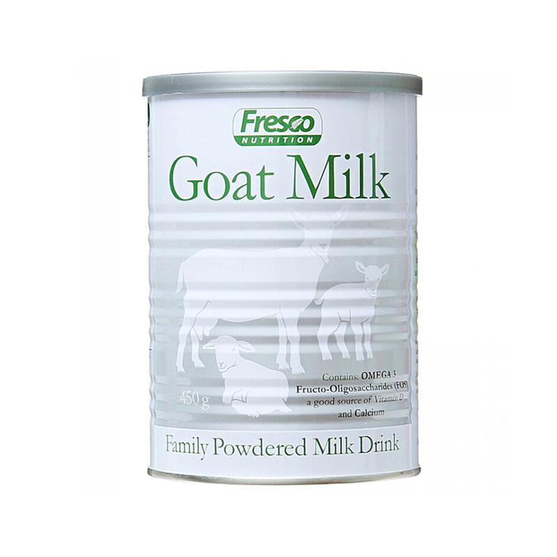【新西兰直邮】芙思柯Fresco家庭羊奶 450g