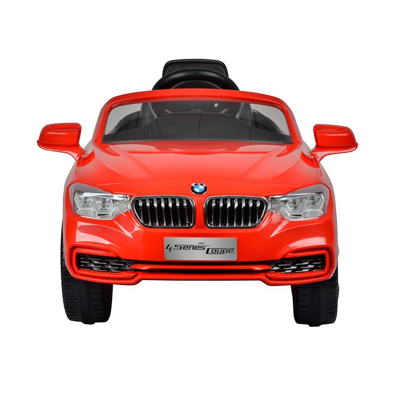 智乐堡宝马4系电动车(双驱)红色