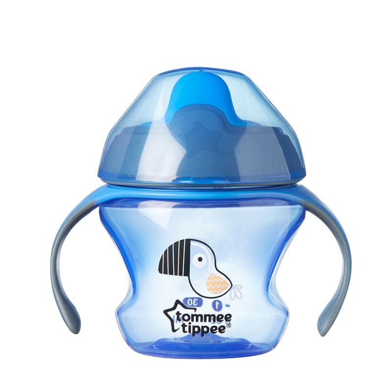 汤美星(TommeeTippee)初级鸭嘴杯蓝色150ml