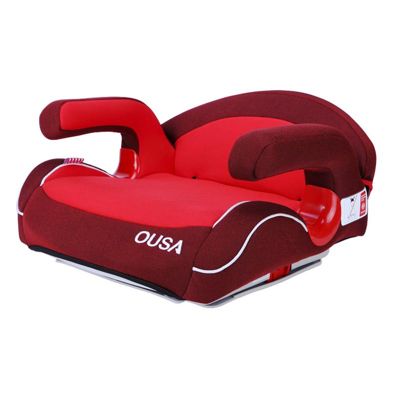 欧萨(OUSA)儿童安全座垫增高垫雅典红15-36kg