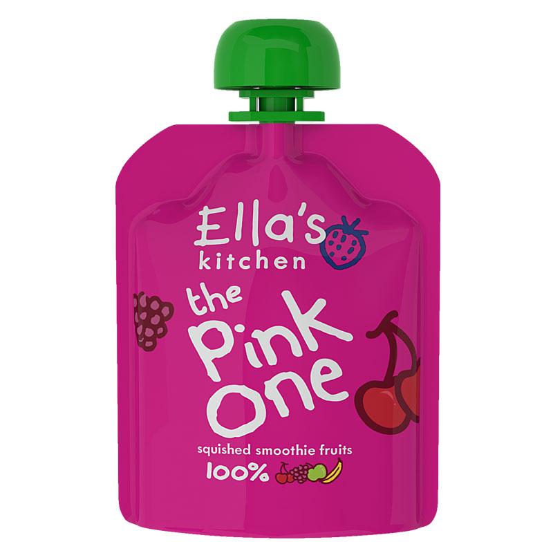 艾拉厨房--粉色混合果泥90g