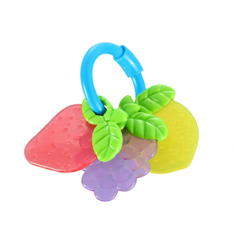 亲亲我水果手摇铃益智玩具新生儿摇铃
