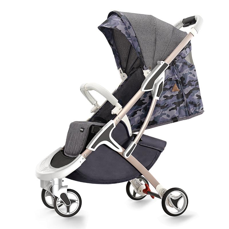 hotmom辣妈M19婴儿推车 儿童折叠超轻便婴儿车 宝宝可坐可躺手推车伞车 沙漠迷彩