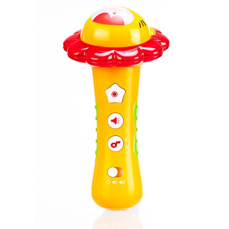 澳贝小明星话筒麦克风录音多功能儿童音乐玩具463473