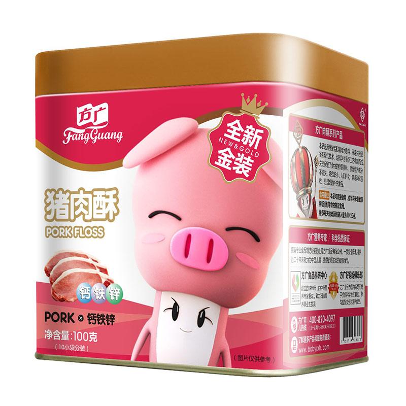 方广猪肉酥钙铁锌100g6个月以上