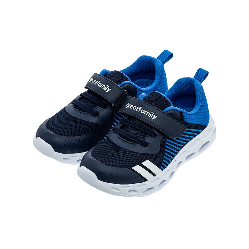 歌瑞家(greatfamily)男婴时尚跑鞋GKS1-012SH蓝16CM双