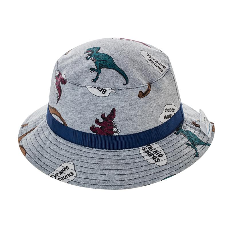 歌瑞家A类男童混色针织盆帽