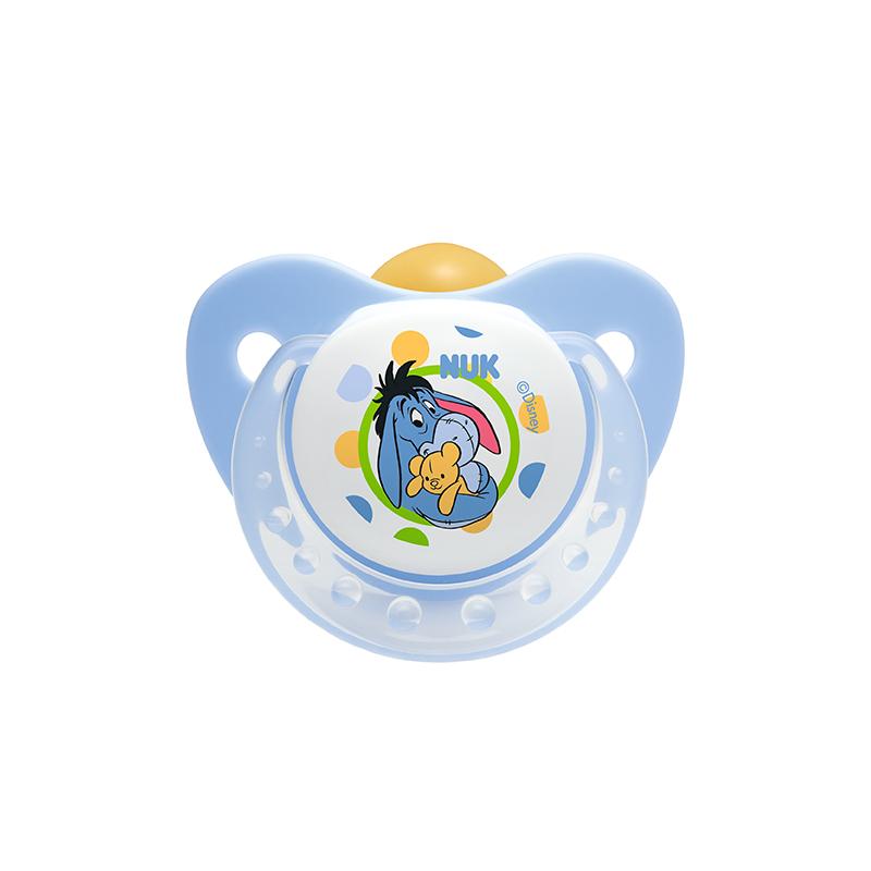 NUK迪士尼乳胶安抚奶嘴王1号/0至6个月