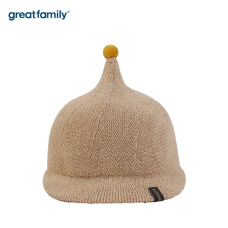 歌瑞家A类男童米色网眼棒球帽帽子