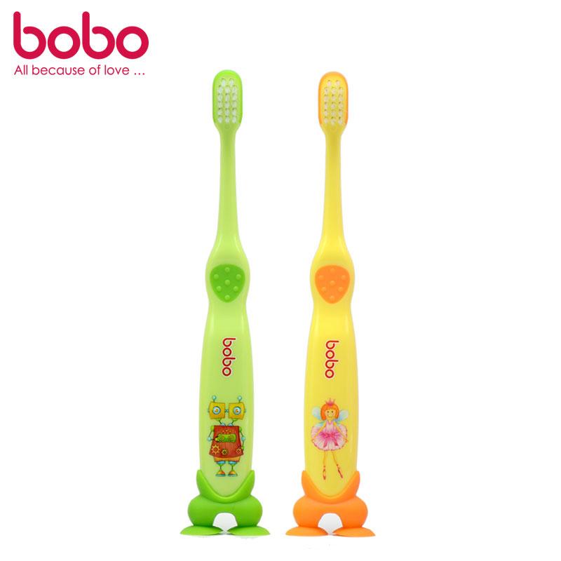 BOBO乐儿宝细毛护龈牙刷