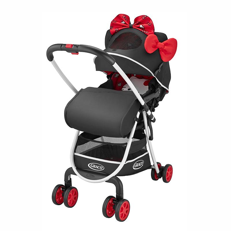 美国Graco葛莱婴儿推车城市轻盈高景观系列 6Y65HKTN限量 HELLO KITTY版