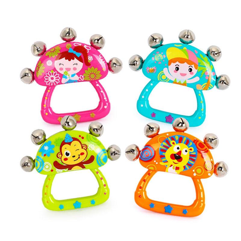 汇乐婴幼儿玩具手铃(颜色款式随机)