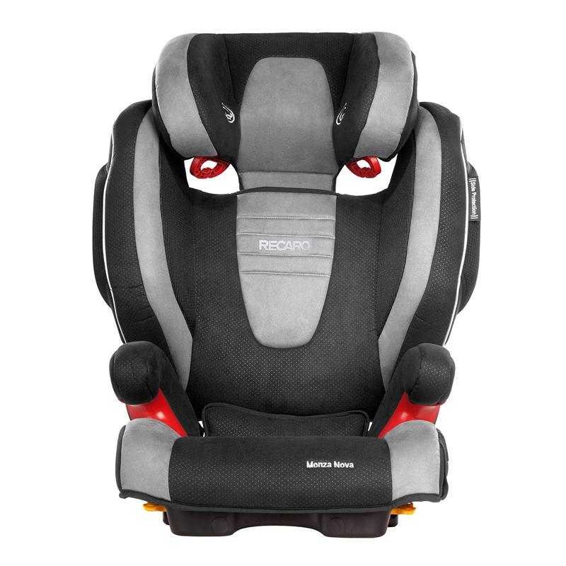 Recaro莫扎特2代儿童安全座椅银黑色