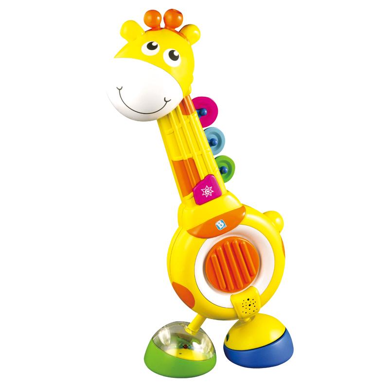 B kids 蓝盒宝宝 音乐长颈鹿 适用于12个月以上 000707