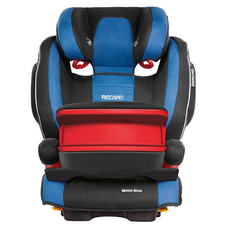 Recaro超级莫扎特儿童安全座椅 德国原装进口 独有头部安全气囊和音乐系统