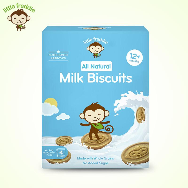 小皮--牛奶饼干27g