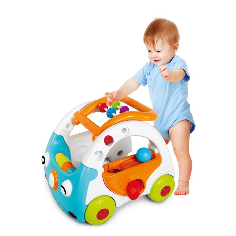 B kids 蓝盒宝宝 声光步行车 适用于9个月以上 005216