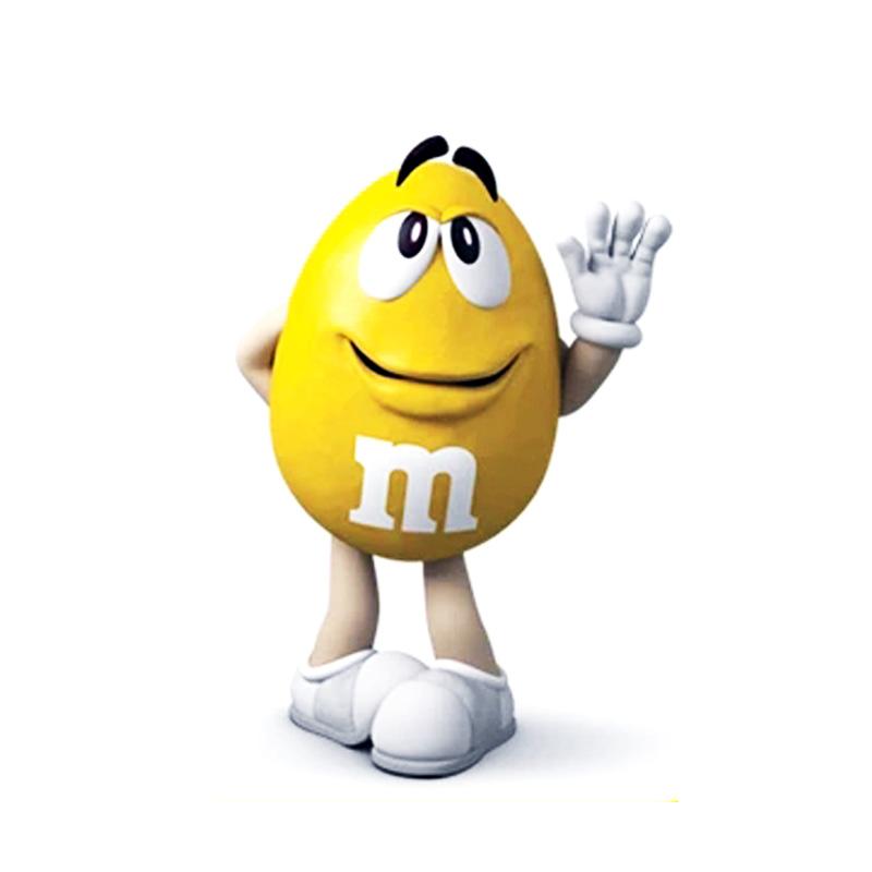 M&M牛奶巧克力豆13g/个