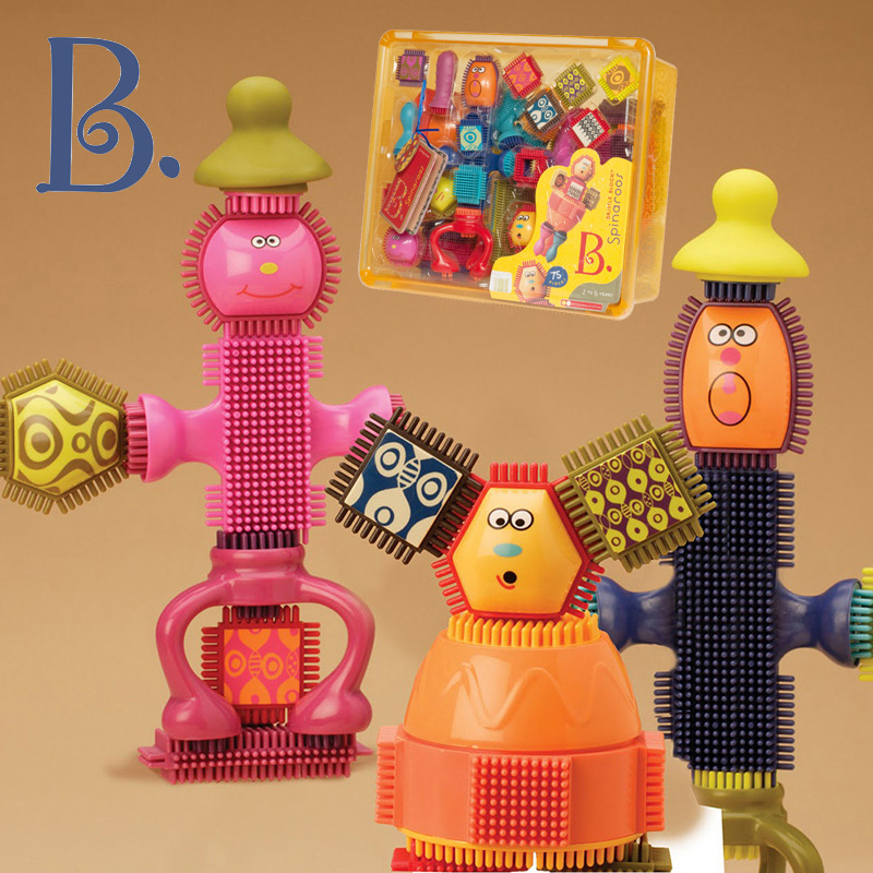 B.Toys比乐布莱斯特鬃毛积木