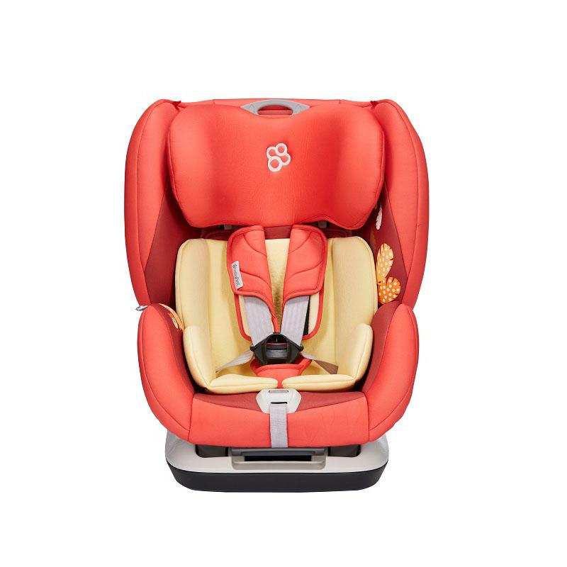 宝贝第一V505A铠甲舰队尊享版 熔岩红儿童汽车安全座椅9-36kg