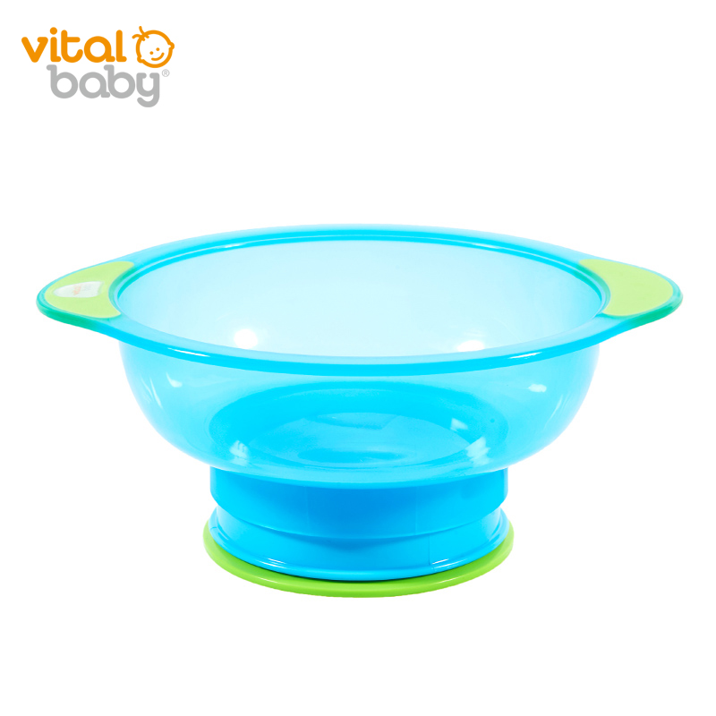 韦特儿Vital强力吸盘防滑碗蓝色