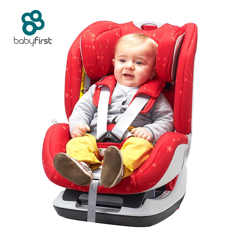 宝贝第一(Babyfirst)儿童安全座椅宝宝座椅太空城堡钻石版星座红R102A