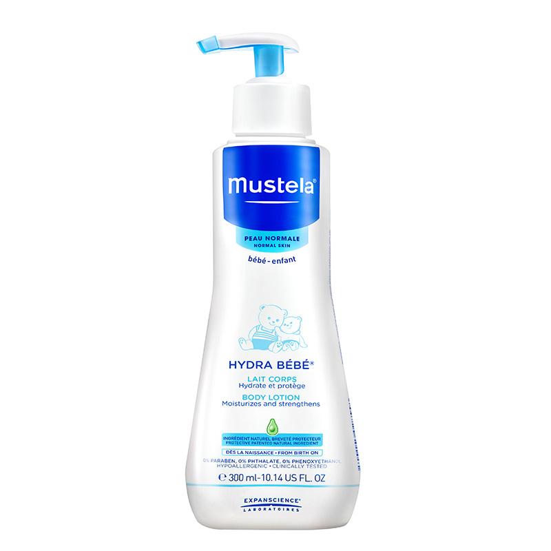 妙思乐(Mustela)法国原装保湿润肤乳300ml瓶