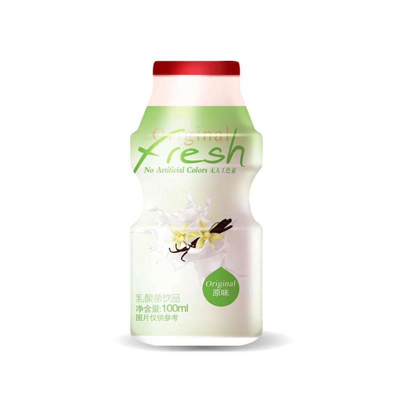 尚可诗乳酸菌饮品原味100ml*4瓶包
