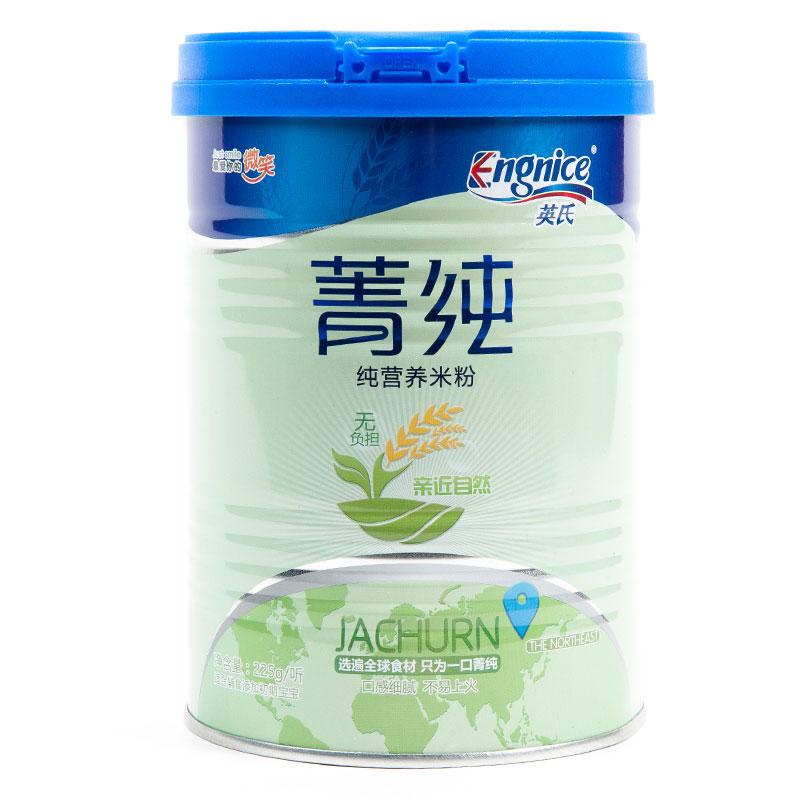 英氏Engnice菁纯纯营养米粉225克/罐