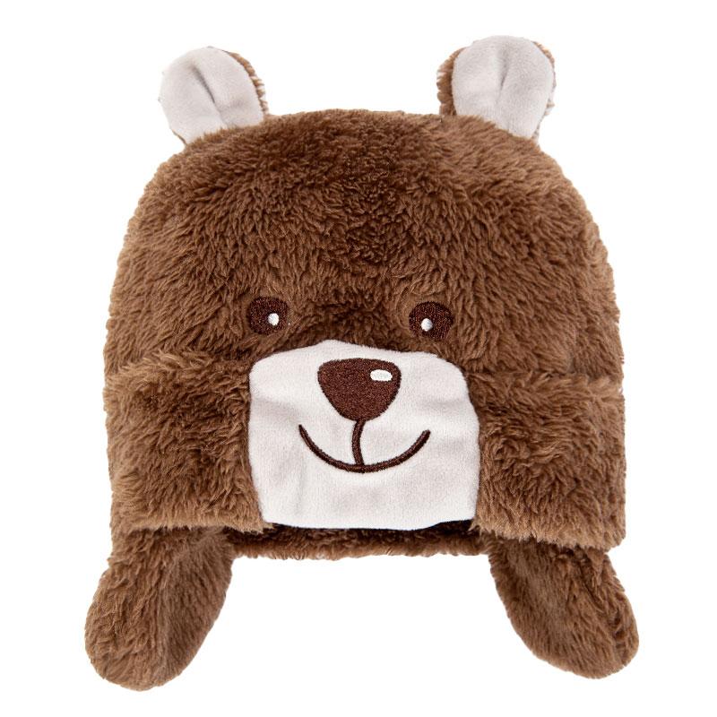 歌瑞家男童褐色护耳帽