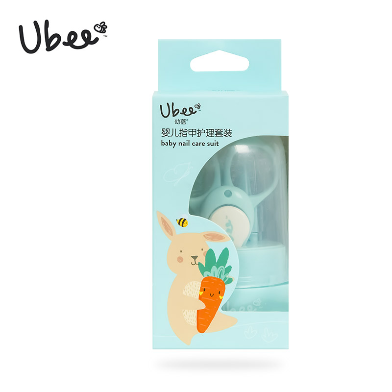 幼蓓(Ubee)婴儿指甲护理套装1套/件