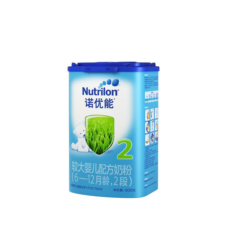 诺优能较大婴儿配方奶粉(6-12月龄,2段)